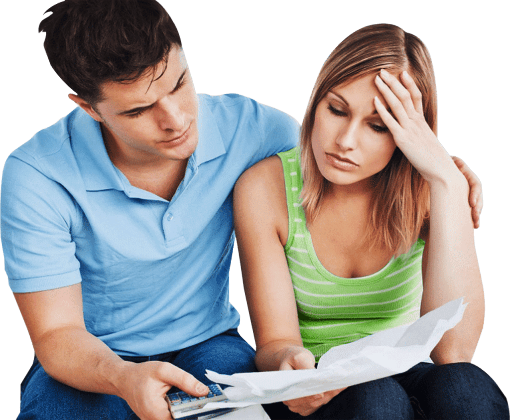 national debt counsellors, debt stressed couple